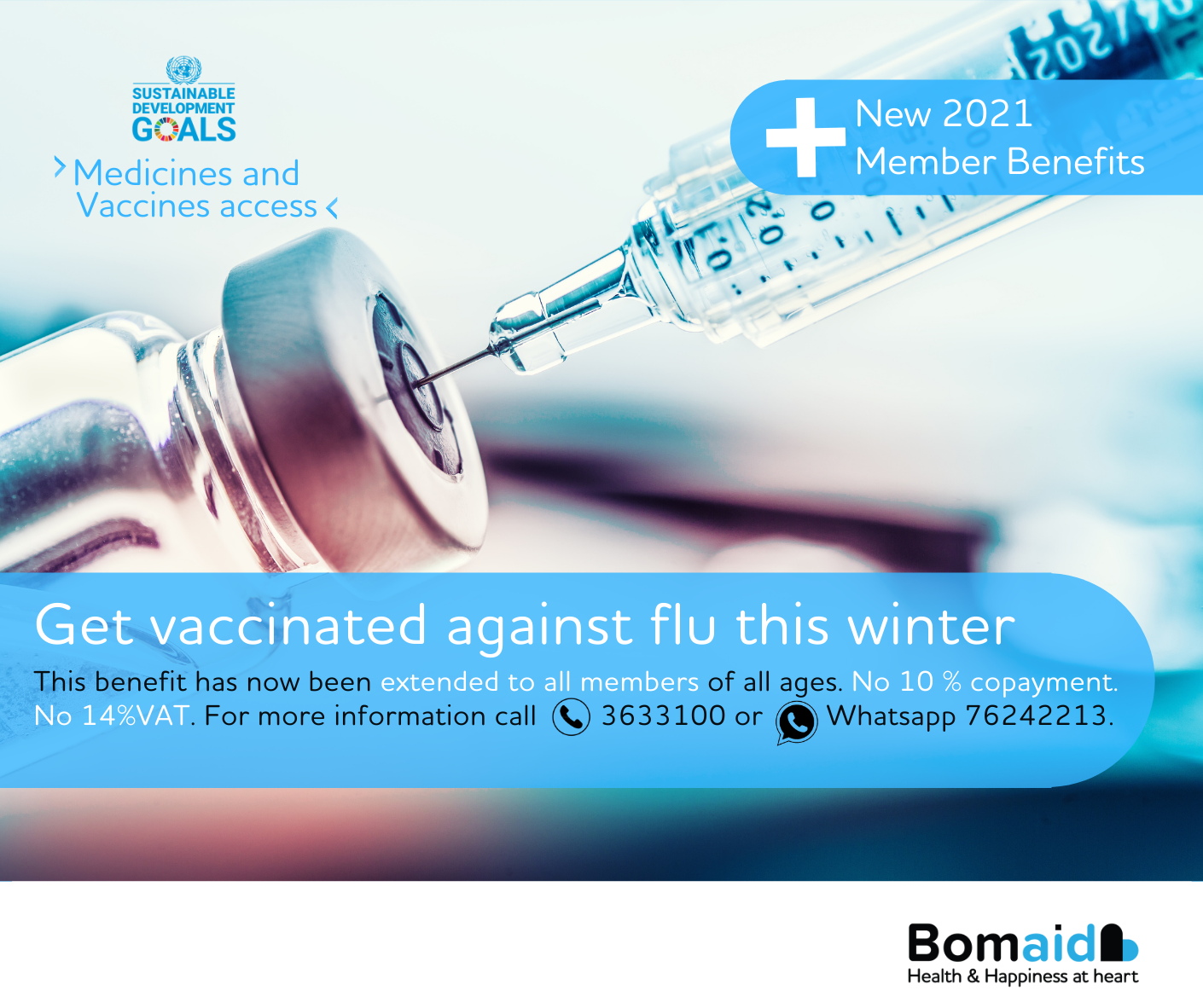 New Benefits_Get Vaccinated Against Flu this Winter